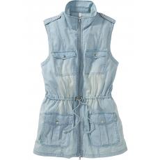 Damen Denim Jeansweste SHEEGO DENIM blau 48,50