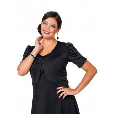 Damen Style Bolero SHEEGO STYLE schwarz 48,50,52,54,56,58