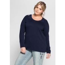 Damen Style Strickpullover SHEEGO STYLE blau 48,52,56