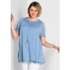 Damen Style Tunika SHEEGO STYLE blau 48,50,52,54,56,58