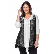 Damen Style Weste SHEEGO STYLE schwarz 48,50,52,54,56,58
