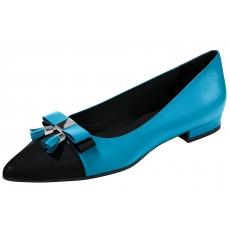 Heine Ballerina blau 35,37,39,41,43