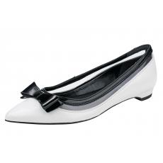 Heine Ballerina schwarz-weiß 35,37,39,41,42