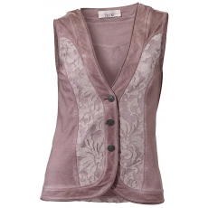 LINEA TESINI by Heine Damen Shirtweste rose 46