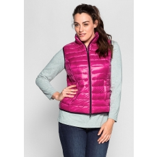 SHEEGO CASUAL Damen Casual Steppweste rosa 48,50,52,54,56
