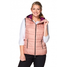 SHEEGO CASUAL Damen Casual Steppweste rosa 48,50,52,54