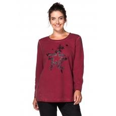 SHEEGO CASUAL Damen Casual Sweatshirt rot 56
