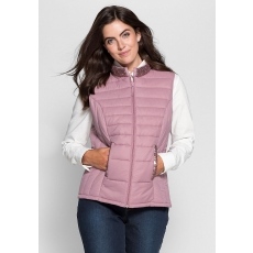 SHEEGO STYLE Damen Style Steppweste rosa 48,50