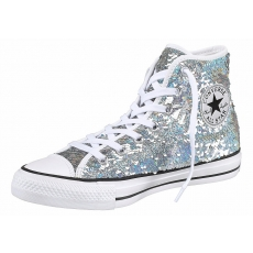 Sneaker Chuck Taylor All Star Holiday Party Converse silberfarben 37,39,41,42