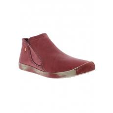 SOFTINOS softinos Slipper INGE washed leather HW17 rot 35,37,39,41,43