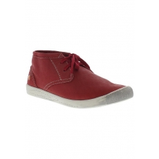 SOFTINOS softinos Sneaker high Indira smooth leather SS17 rot 35,37,39,41,43