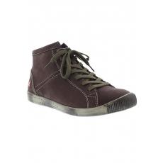 SOFTINOS softinos Sneaker ISLEEN smooth leather HW17 braun 35,37,39,41,43