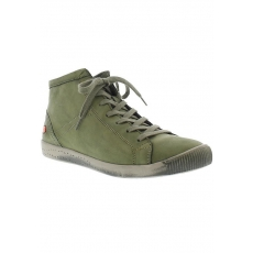 SOFTINOS softinos Sneaker ISLEEN washed leather HW17 grün 35,37,39,41,43