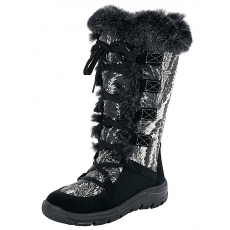 Stiefel Heine schwarz-weiß 35,37,39,41,42