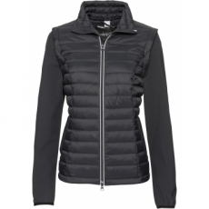 2-in-1-Outdoorjacke mit Weste langarm  in schwarz für Damen von bonprix