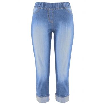 3/4-Jeggings in blau für Damen von bonprix
