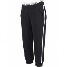3/4-Jogginghose in schwarz für Damen von bonprix