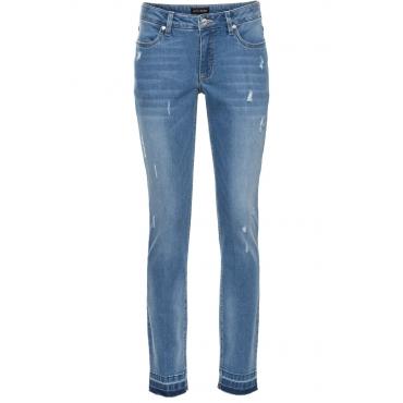 7/8-Skinny-Jeans in blau für Damen von bonprix