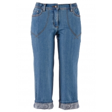 7/8-Stretch-Jeans in blau für Damen von bonprix