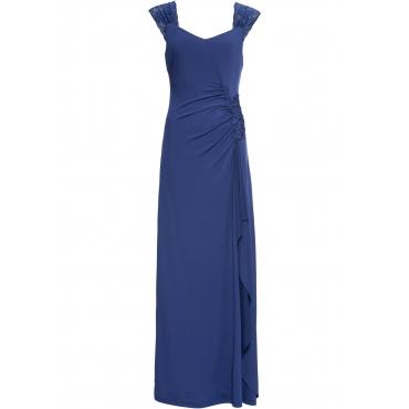 Abend-Maxikleid ohne Ärmel  in blau für Damen von bonprix