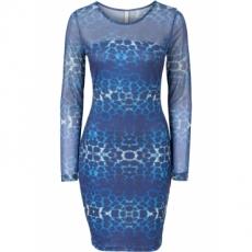 Abendkleid in blau von bonprix