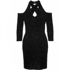 Abendkleid in schwarz von bonprix