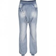 Baggy Jeans in blau für Damen von bonprix