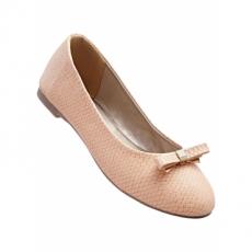 Ballerina in 2 weiten in rosa für Damen von bonprix