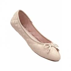Ballerina in beige für Damen von bonprix