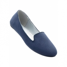Ballerina in blau für Damen von bonprix