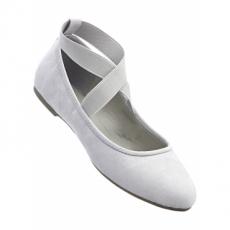 Ballerina in grau für Damen von bonprix