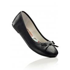 Ballerina in schwarz von bonprix
