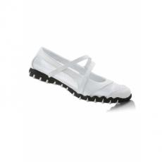 Ballerina in weiß für Damen von bonprix
