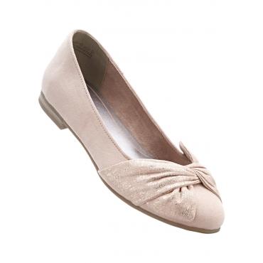Ballerina von Marco Tozzi in rosa für Damen von bonprix