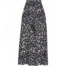Bedruckter Viskose-Rock in schwarz für Damen von bonprix