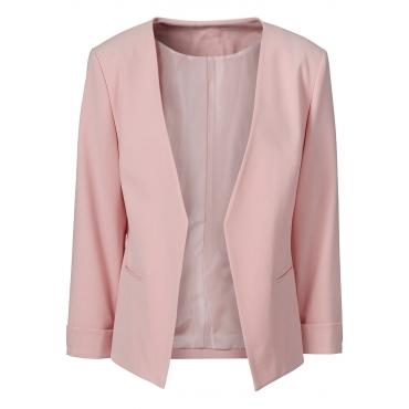 Blazer 3/4 Arm  in rosa für Damen von bonprix