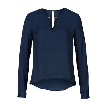 bodyflirt bluse in blau von bonprix blau damenmode in bergr en. Black Bedroom Furniture Sets. Home Design Ideas