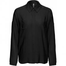 Bluse in schwarz von bonprix