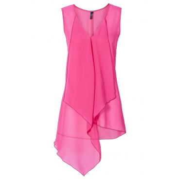 Bluse ohne Ärmel  in pink von bonprix