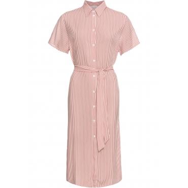 Blusen-Kleid halber Arm  in rot  von bonprix