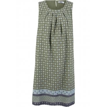 Blusenkleid ohne Ärmel  in grün für Damen von bonprix