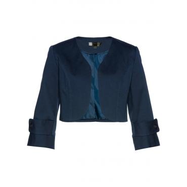 Bolero-Jacke 3/4 Arm  in blau für Damen von bonprix