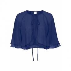 Bolero kurzer Arm  in blau (Rundhals) für Damen von bonprix