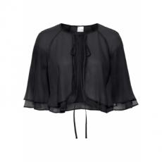 Bolero kurzer Arm  in schwarz (Rundhals) für Damen von bonprix