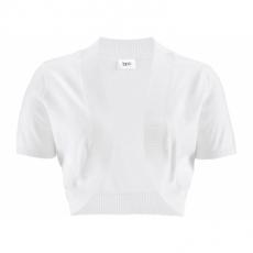 Bolero kurzer Arm  in weiß für Damen von bonprix