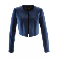 Bolero langarm  in blau (Rundhals) für Damen von bonprix
