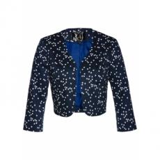 Bolero mit Sternendruck 3/4 Arm  in blau für Damen von bonprix