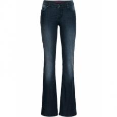 Bootcut Jeans in blau für Damen von bonprix
