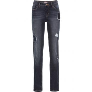 Boyfriend-Stretch-Jeans in blau für Damen von bonprix