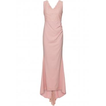 Brautkleid ohne Ärmel  in rosa (V-Ausschnitt) für Damen von bonprix